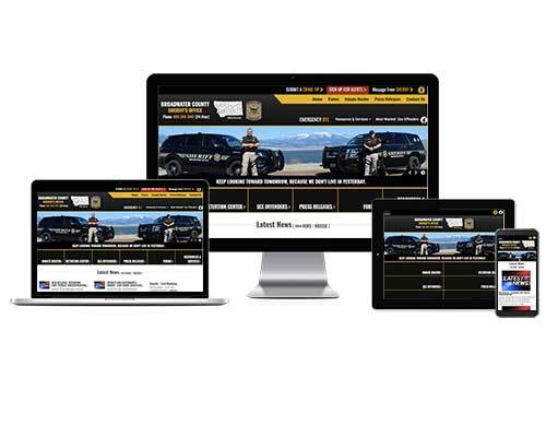 Broadwater County Sheriff's Office, Montana - Responsive Website