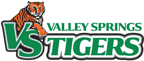 Valley Springs School District Tigers - Mascot Logo