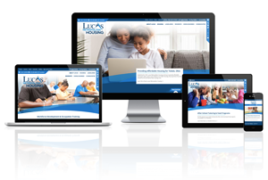 Lucas Metropolitan Housing, Ohio - Responsive Website