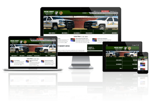 Greene County Sheriff's Office, Arkansas - Responsive Website