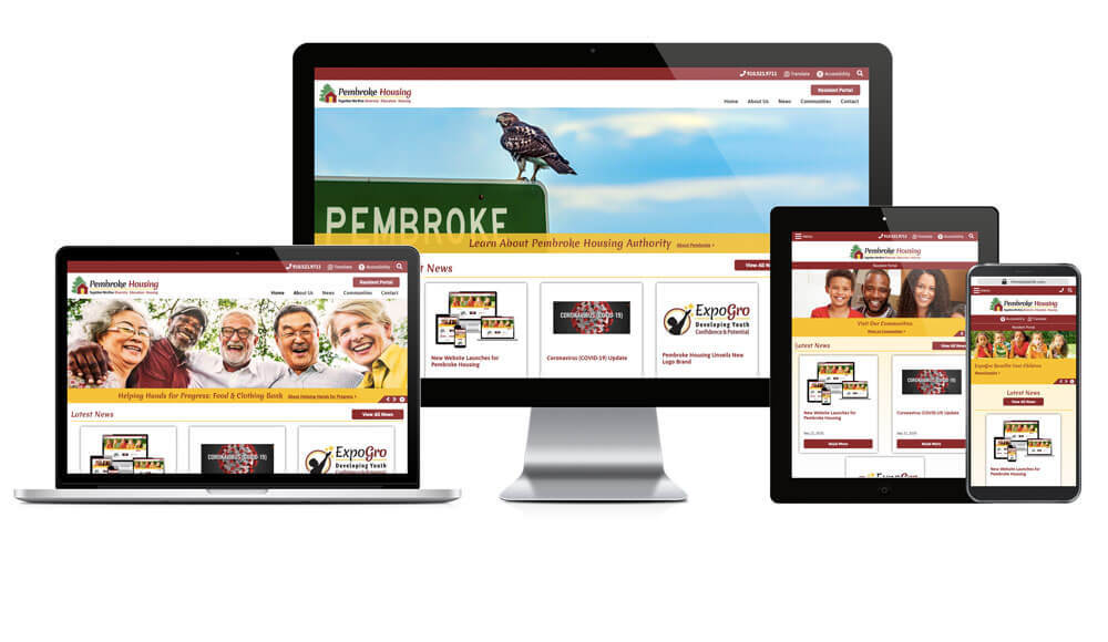 Pembroke Housing Authority, North Carolina - Responsive Website