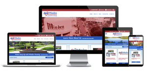 Minden Housing Community, Louisiana - Responsive Website