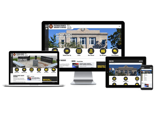 Putnam County Sheriff's Office, Missouri - Responsive Website