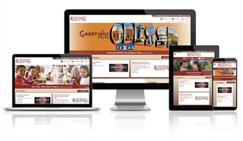 Housing Authority City of Odessa, Texas - Responsive Website
