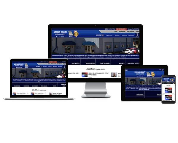 Morgan County Sheriff's Office, Missouri - Responsive Website