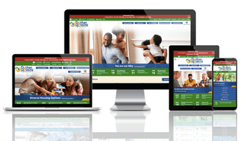 Dothan Housing, Alabama - Responsive Website