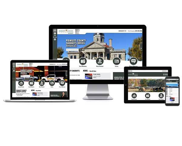 Poinsett County Sheriff's Office, Arkansas - Responsive Website