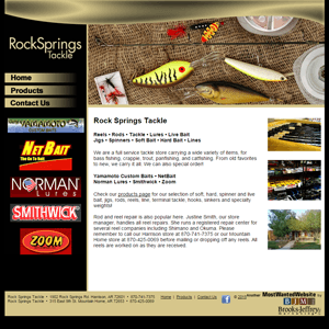 Rock Springs Tackle - Website