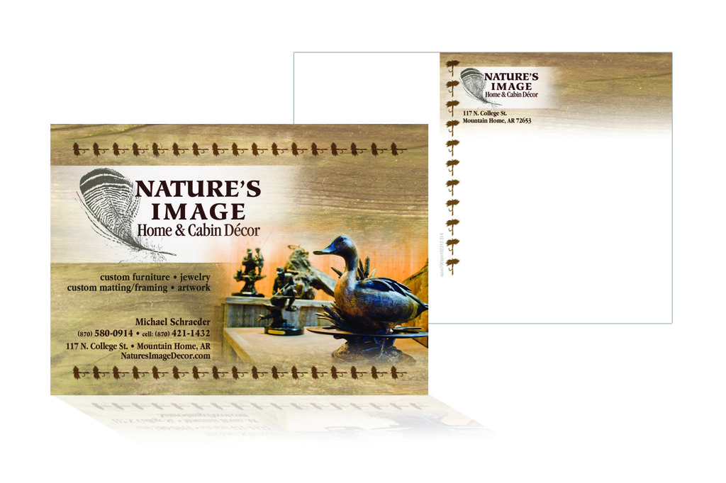 Nature's Image - Postcard