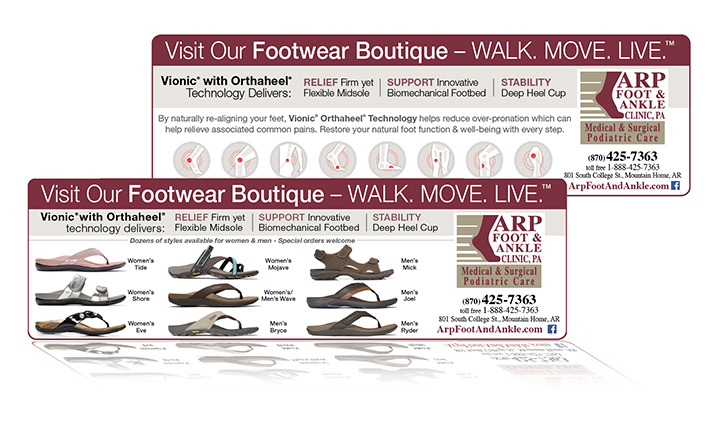 Arp Foot & Ankle Clinic, PA - Ad