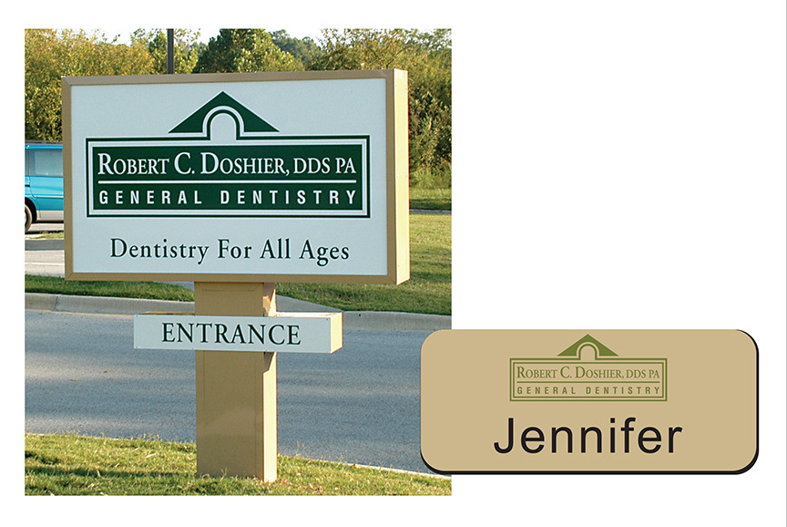 Robert C. Doshier, DDS PA - Signage