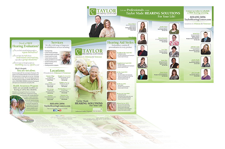 Taylor Hearing Centers - Brochure