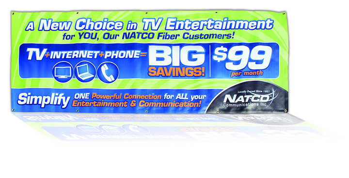NATCO Communications Inc. - Signage