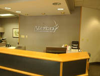 NATCO Communications Inc. - Lobby Sign