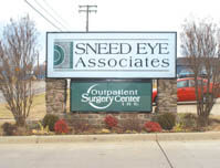 Sneed Eye Associates - Premise Sign