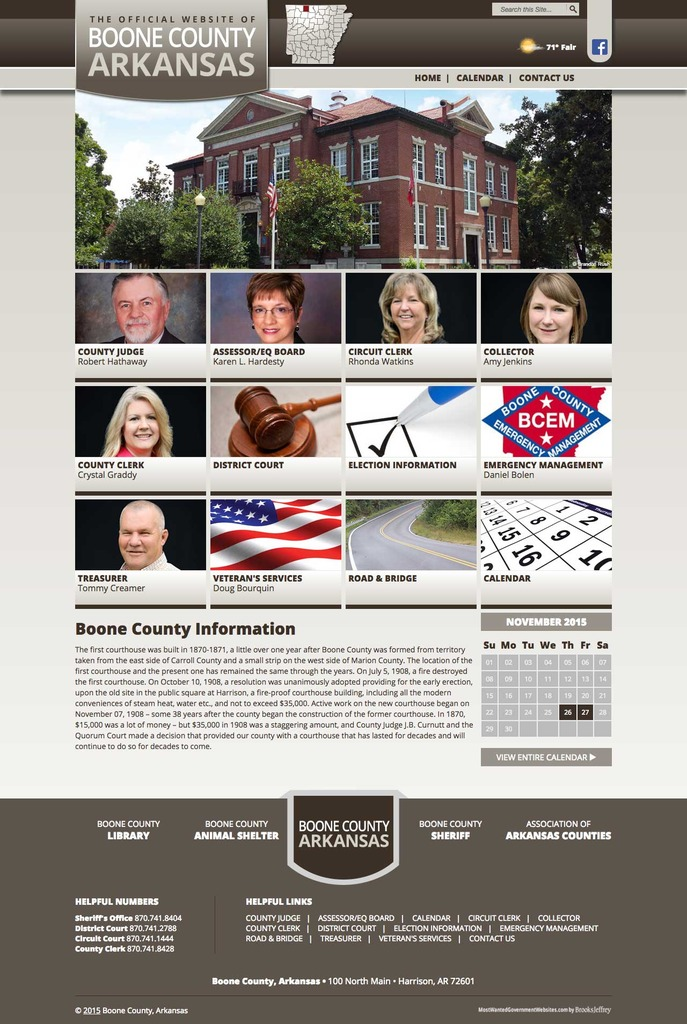 Boone County, Arkansas - Website